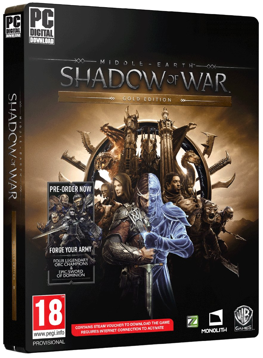 MIDDLE-EARTH: Shadow of War (Gold Edition) - PC