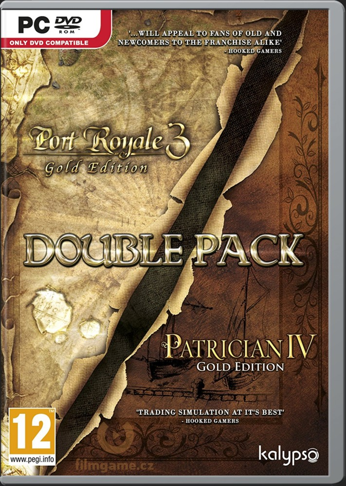 2 HRY: Port Royale 3 (Gold Edition) & Patrician 4 (Gold Edition) - PC