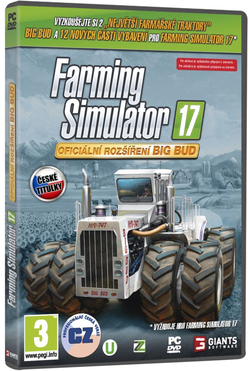 FARMING SIMULATOR 17 oficiální rozšíření BIG BUD - PC