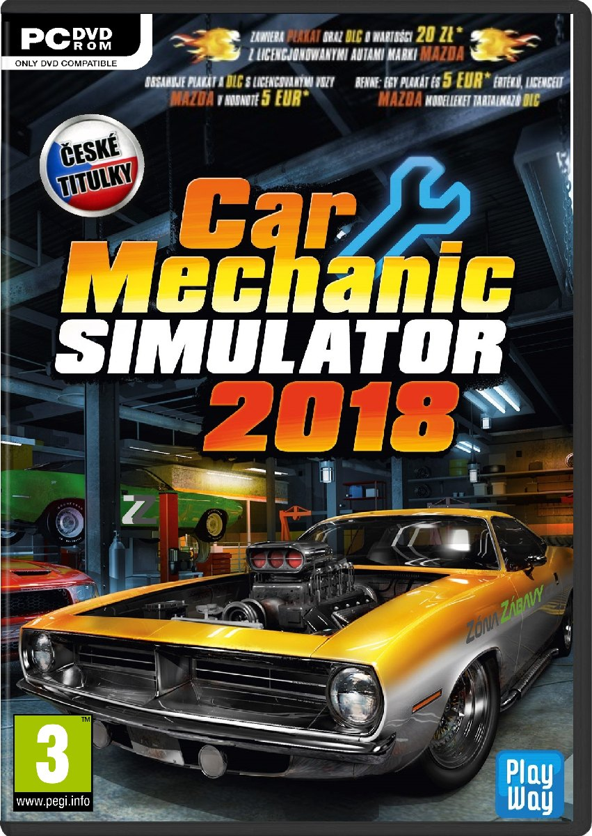 Car Mechanic Simulator 2018 CZ - PC