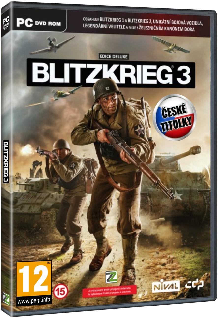 Blitzkrieg 3 Deluxe Edice - PC