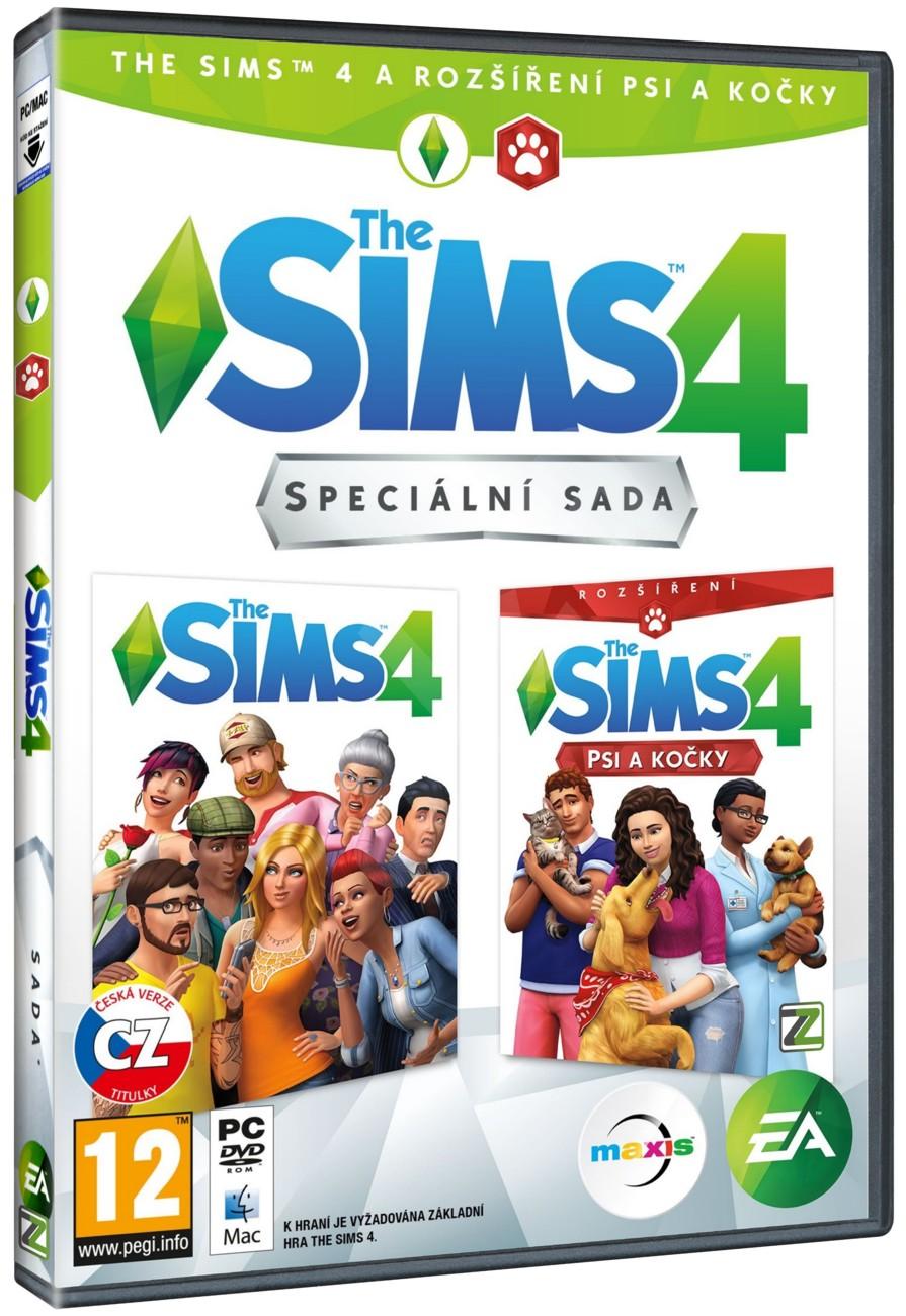 The Sims 4 + Psi a Kočky BUNDLE (základní hra + rozšíření) - PC