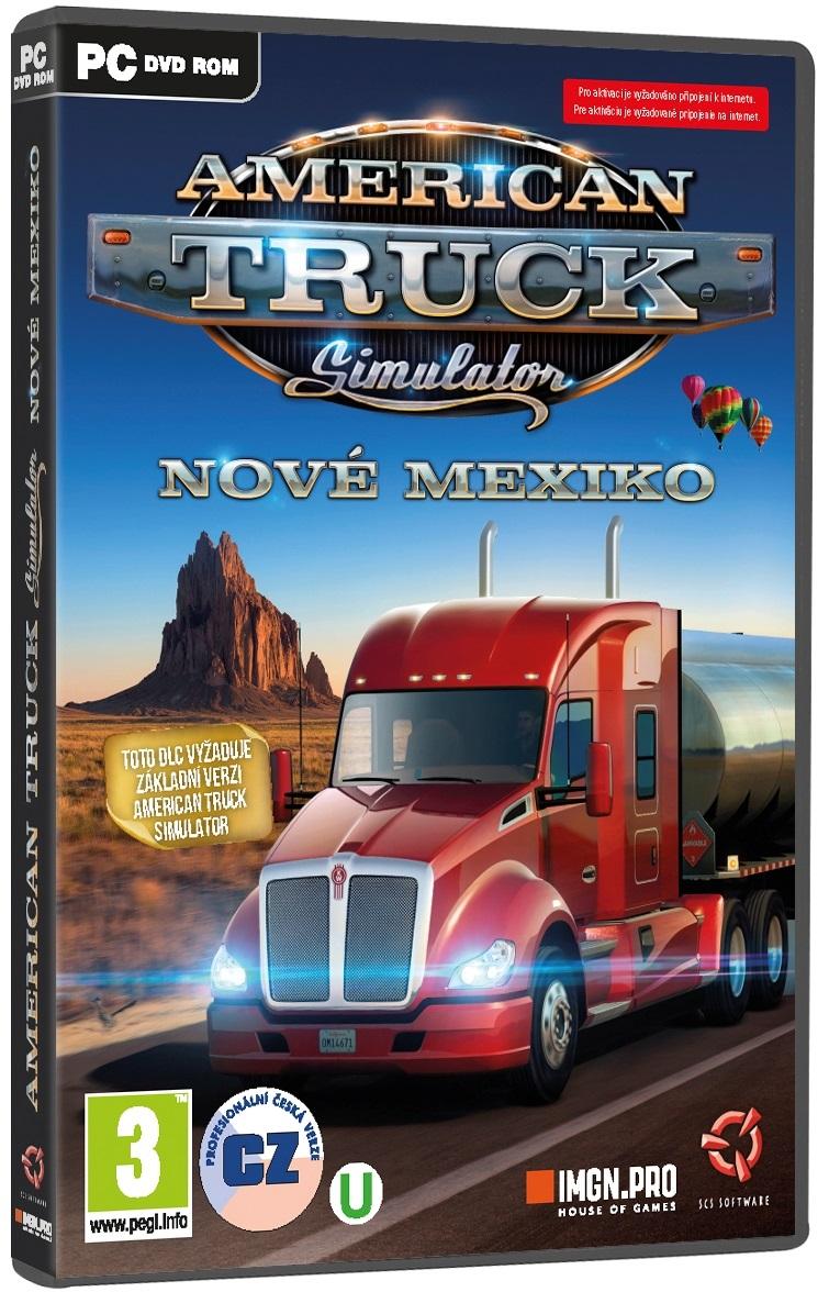 American Truck Simulator: Nové Mexiko (datadisk) - PC