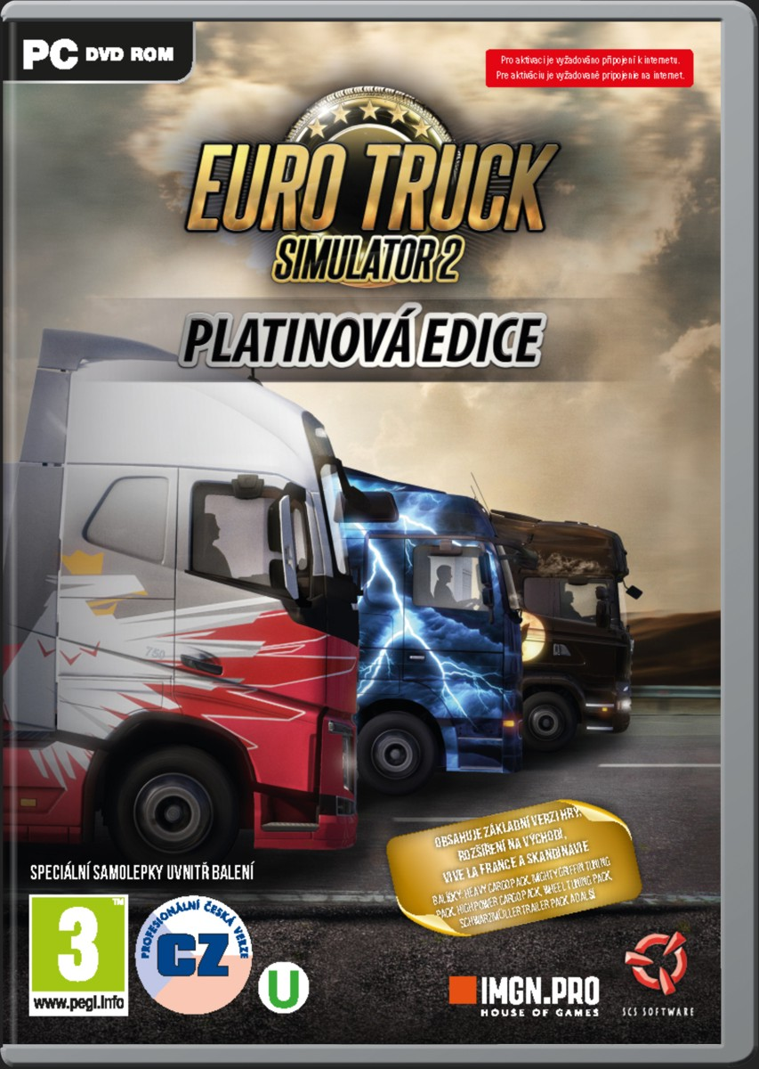 Euro Truck Simulator 2: Platinová edice - PC
