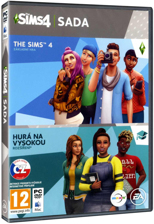 The Sims 4 + Hurá na vysokou BUNDLE (základní hra + rozšíření) - PC