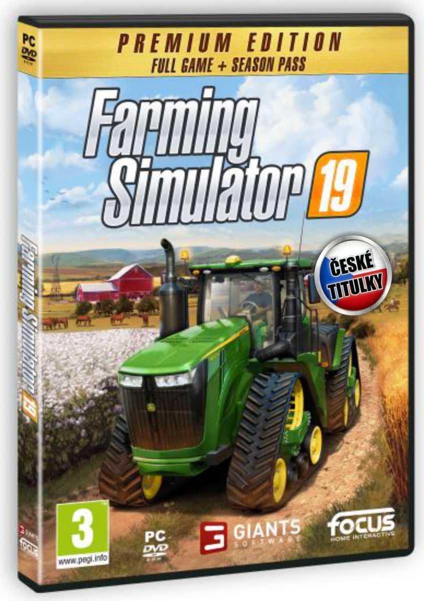 Farming Simulator 19: Premium Edition CZ - PC