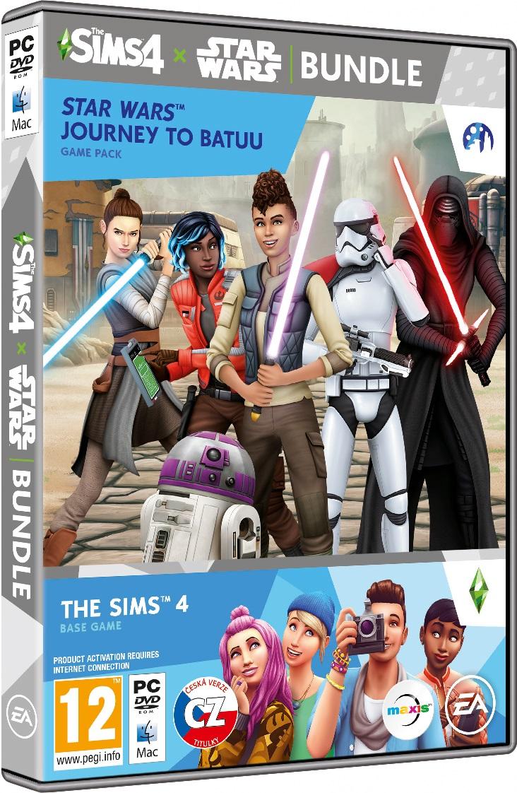 The Sims 4 + Star Wars: Výprava na Batuu BUNDLE (základní hra + rozšíření) - PC
