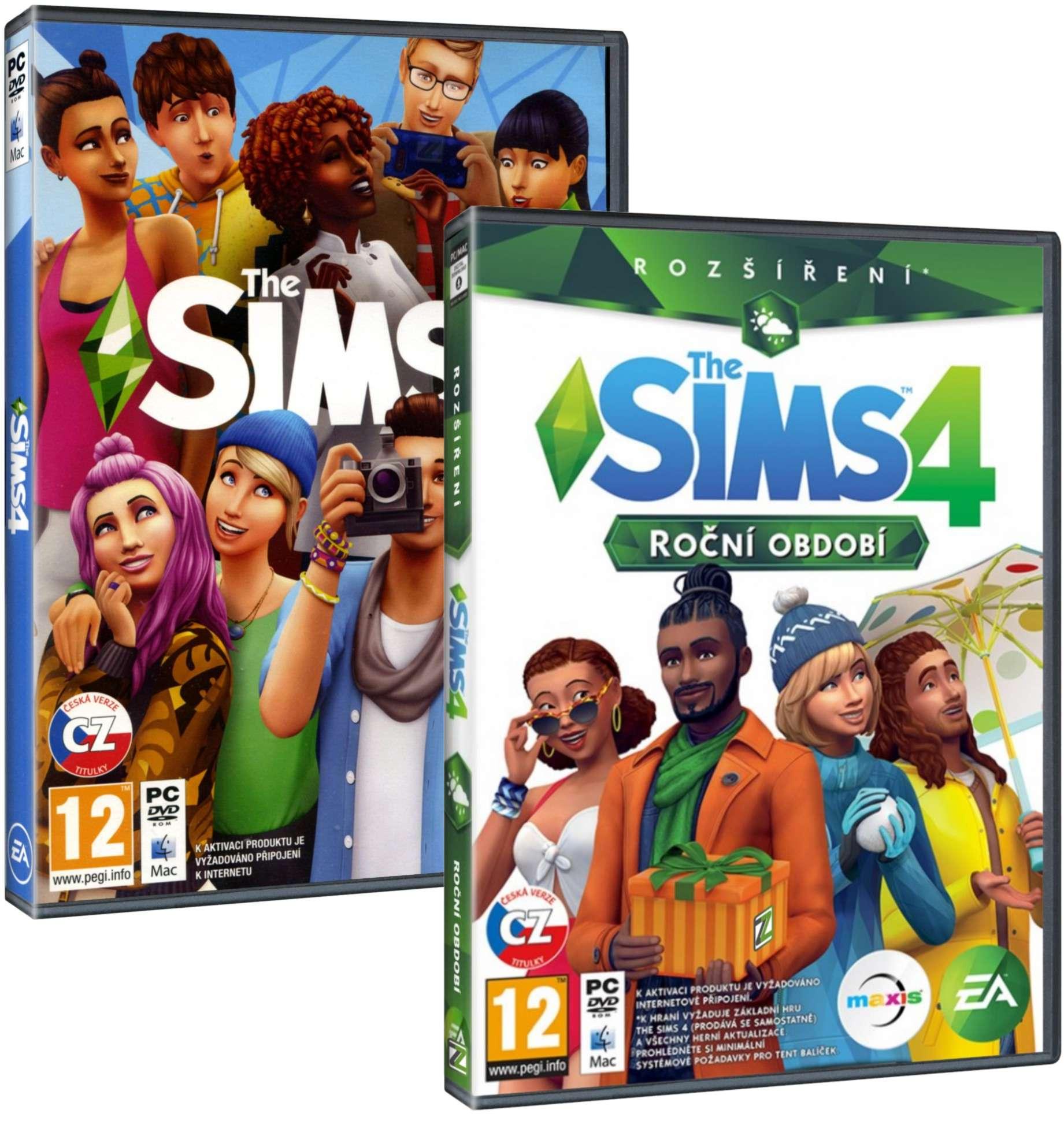 The Sims 4 + Roční období BUNDLE (základní hra + rozšíření) - PC