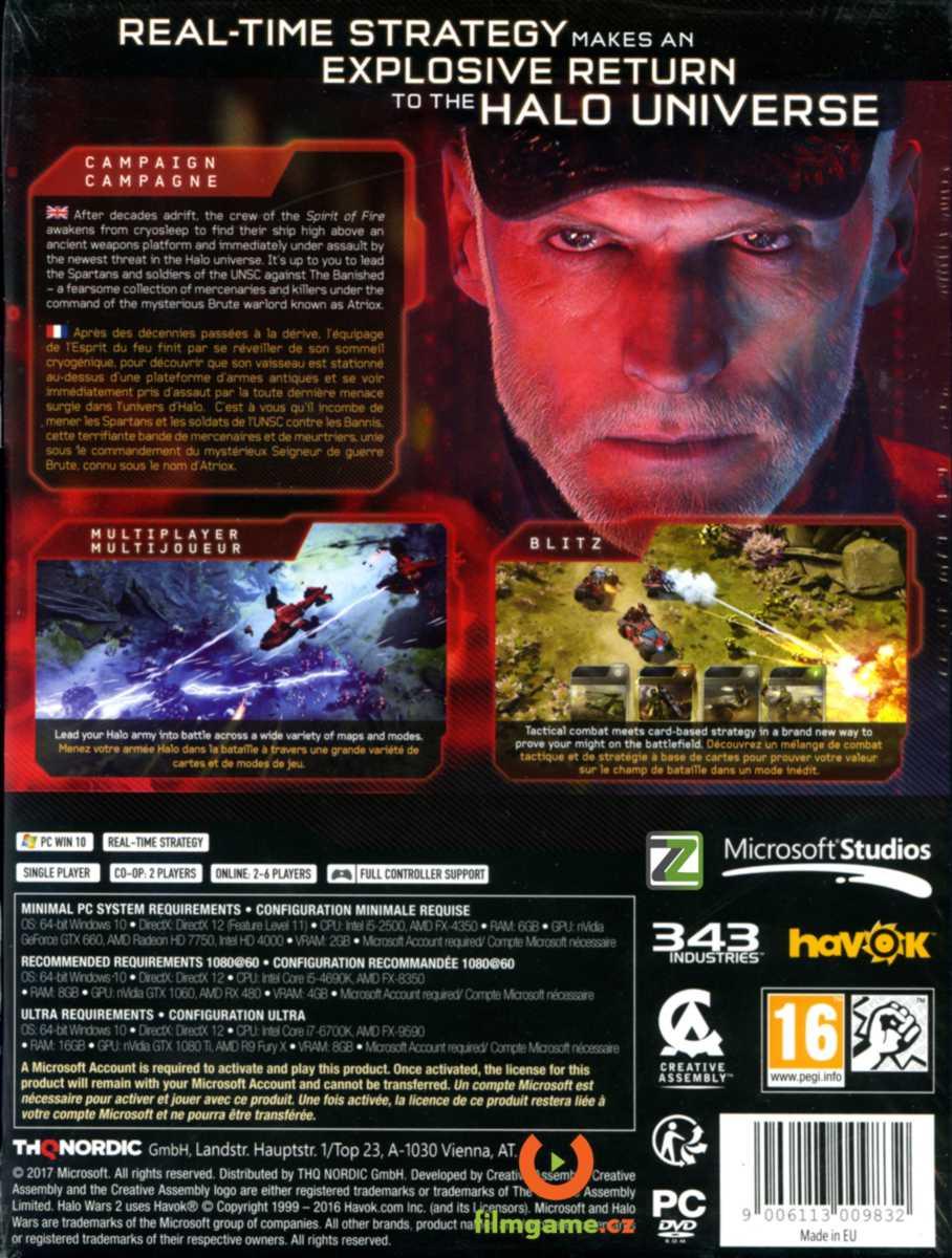HALO WARS 2 (Standard Edition) - PC/Xone (Play Anywhere)