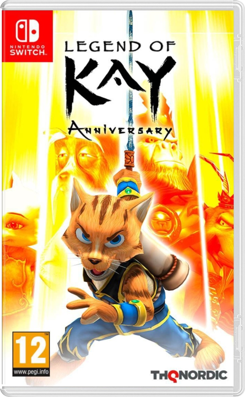 Legend of Kay: Anniversary - Switch