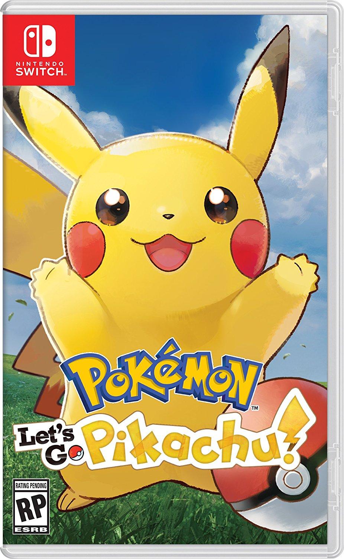 Pokémon Let's Go Pikachu! - Switch
