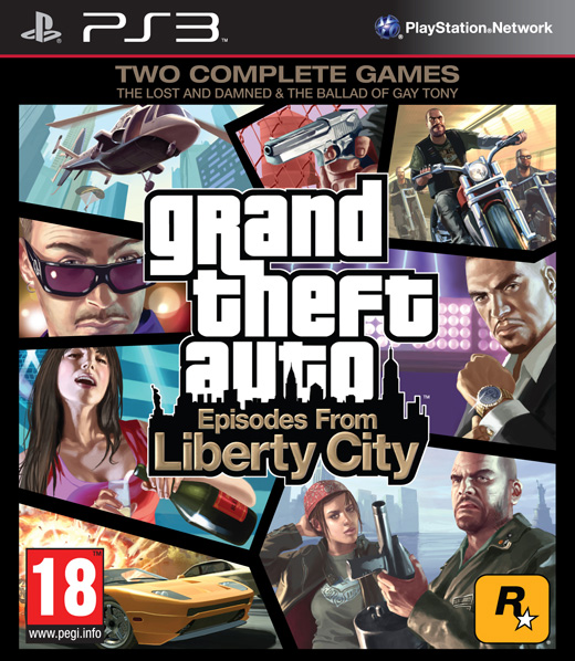 GTA - GRAND THEFT AUTO IV: EPISODES FROM LIBERTY CITY - PS3