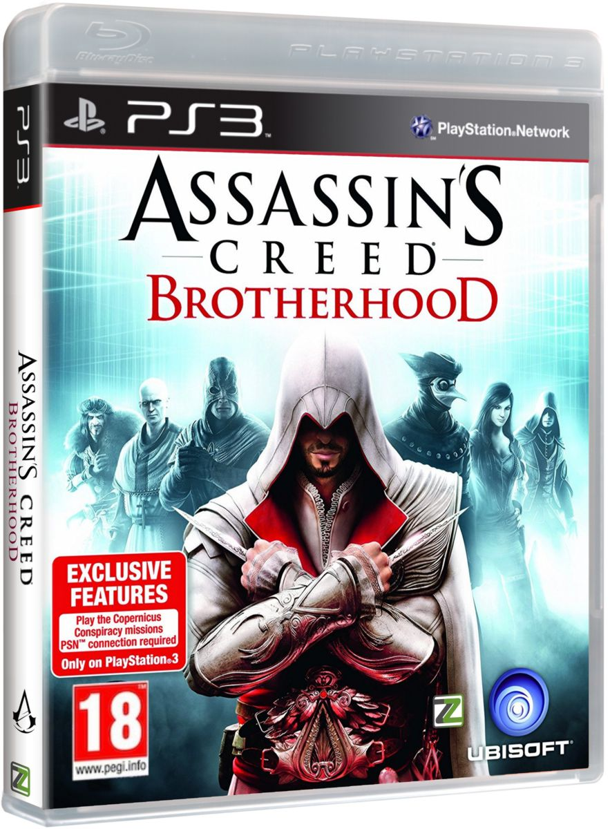 ASSASSINS CREED BROTHERHOOD - PS3