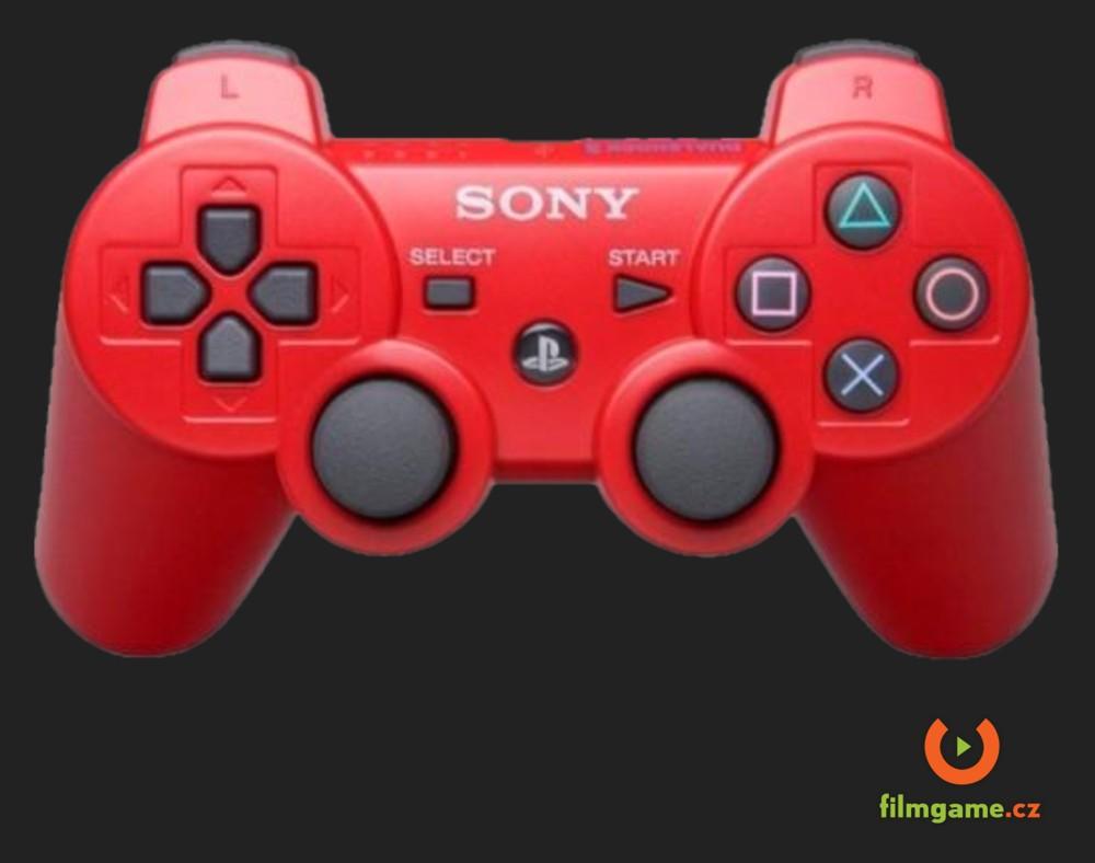 DUALSHOCK 3 WIRELESS CONTROLLER RED - PS3 (OEM - baleno v kartonu)