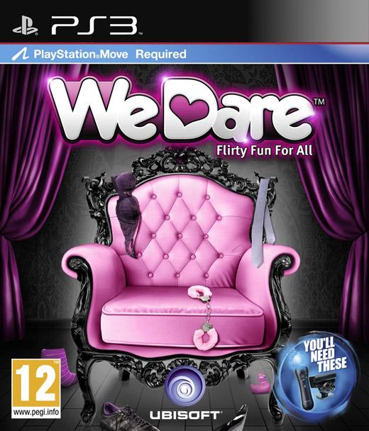 WE DARE - PS3 MOVE