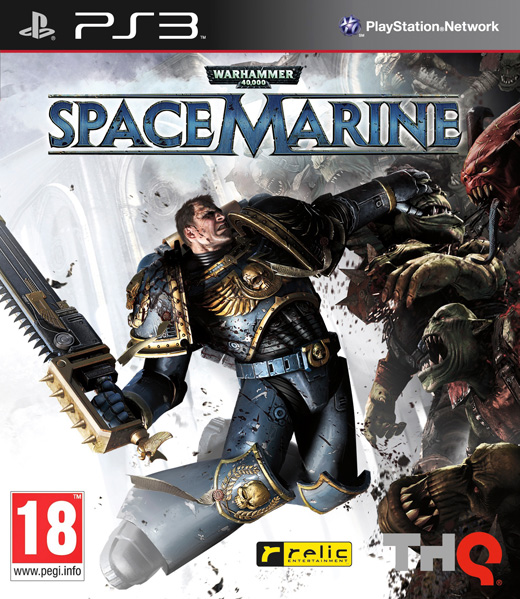 WARHAMMER 40.000: SPACE MARINE - PS3