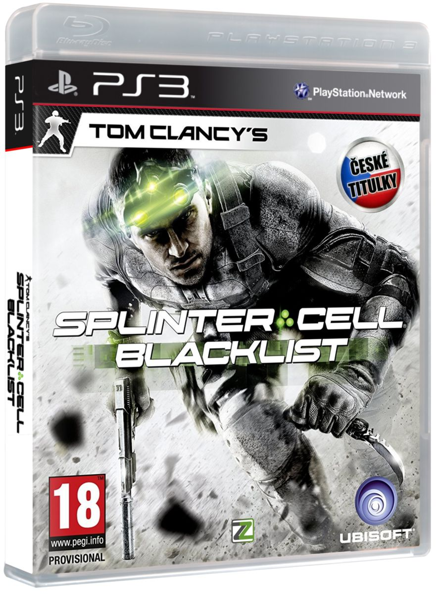 TOM CLANCYS SPLINTER CELL: BLACKLIST CZ - PS3
