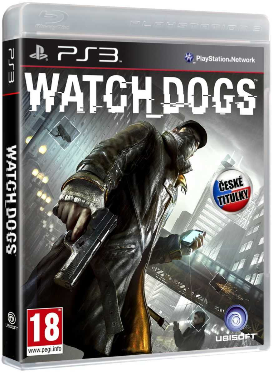 WATCH DOGS CZ - PS3