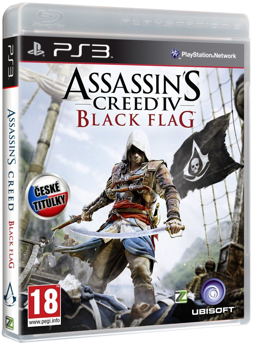 ASSASSINS CREED IV: BLACK FLAG CZ - PS3