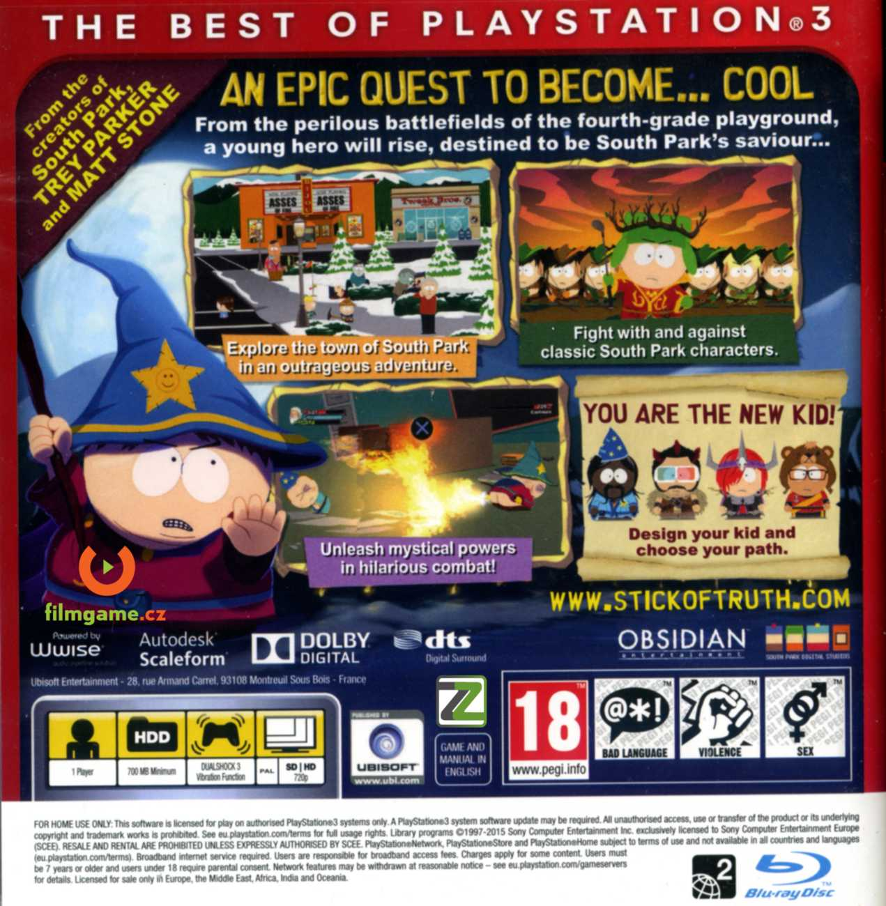 SOUTH PARK: THE STICK OF TRUTH - PS3