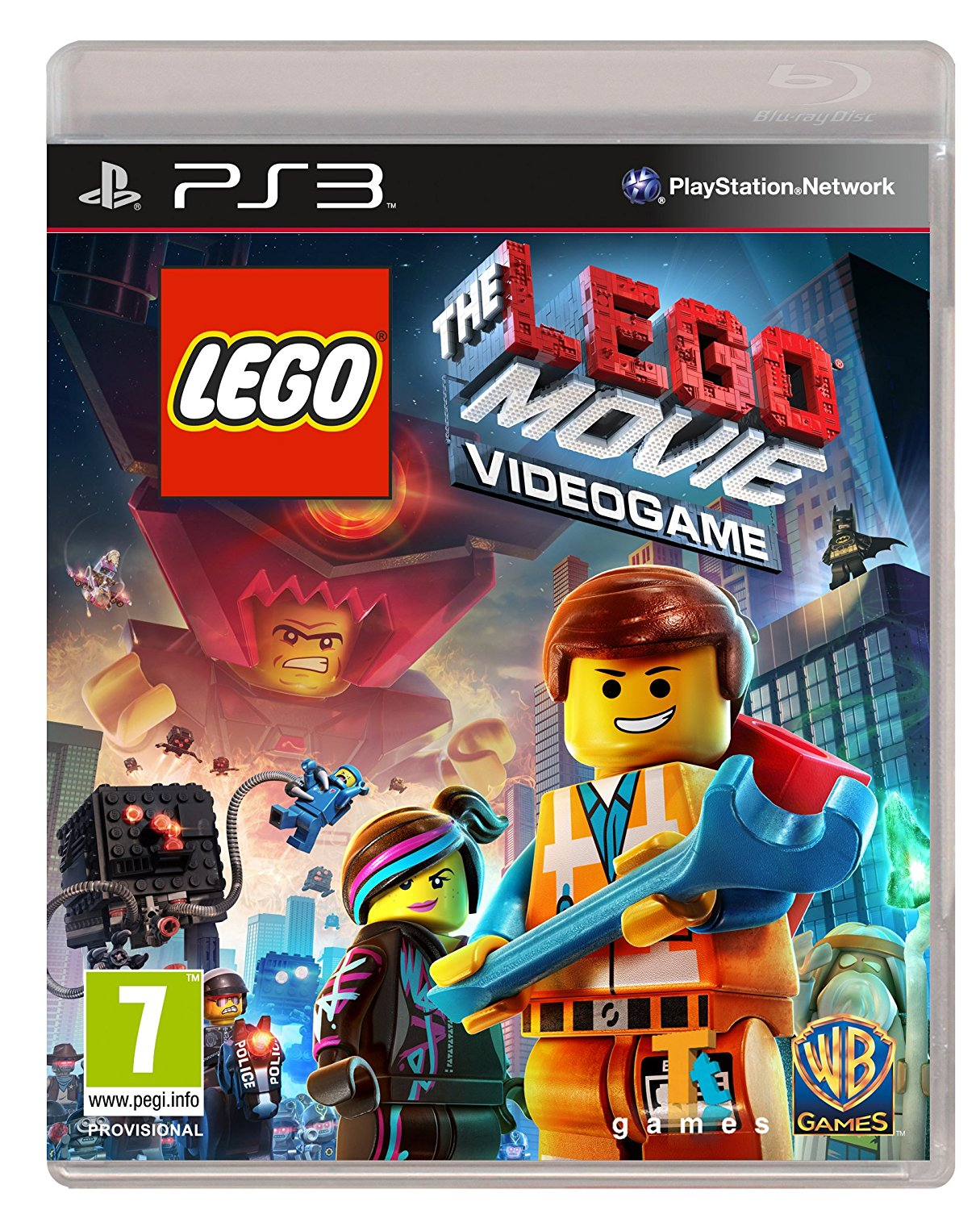 LEGO MOVIE: THE VIDEOGAME - PS3