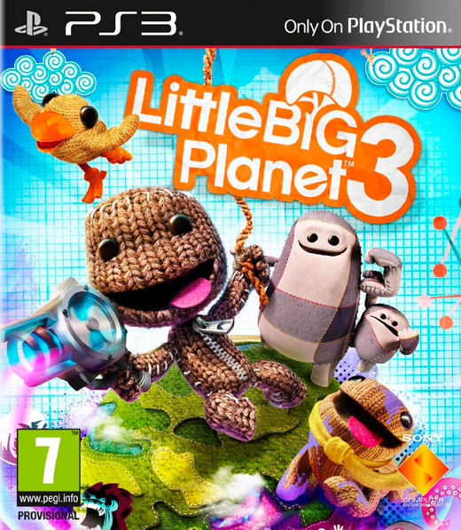 LittleBigPlanet 3 - PS3 MOVE