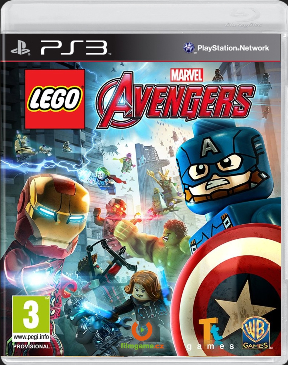 LEGO MARVELS AVENGERS - PS3