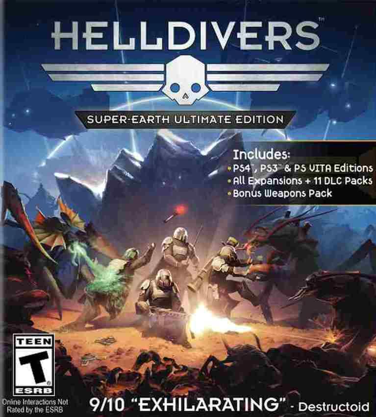 HELLDIVERS Super-Earth Ultimate Edition (kód pro stažení) PS3