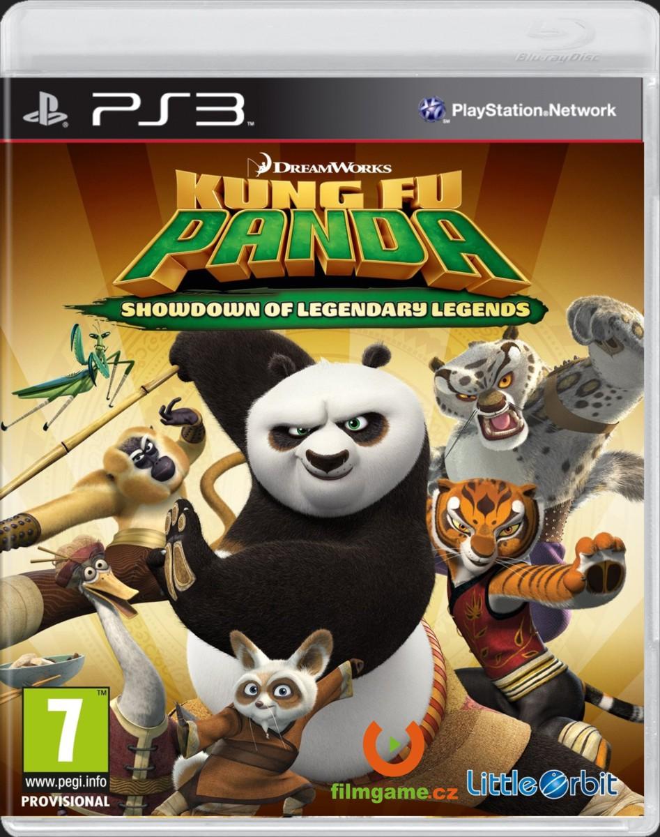 KUNG FU PANDA: SHOWDOWN OF LEGENDARY LEGENDS - PS3