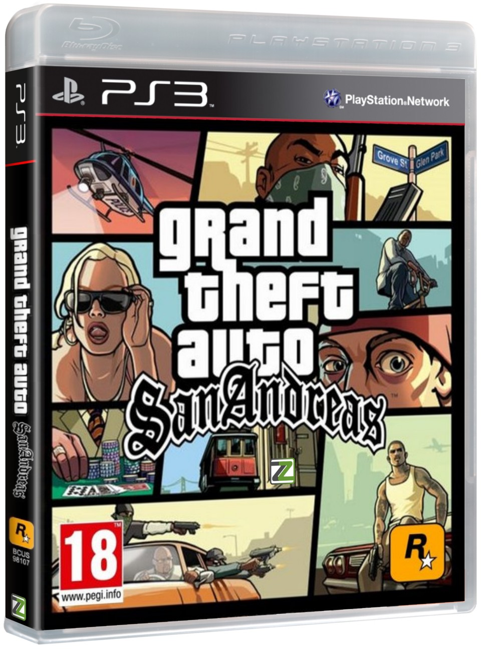 GTA - GRAND THEFT AUTO: SAN ANDREAS - PS3