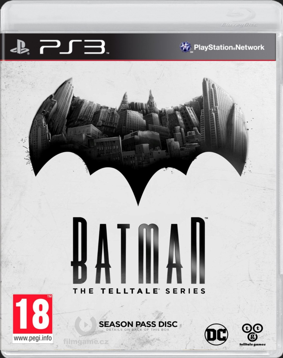 BATMAN - THE TELLTALE SERIES - PS3