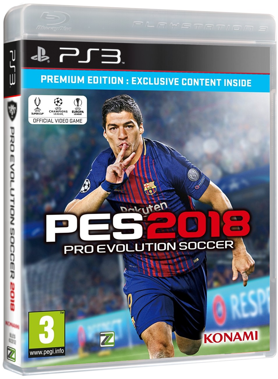 Pro Evolution Soccer 2018 (Premium Edition) - PS3