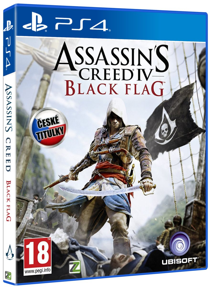 ASSASSINS CREED IV: BLACK FLAG CZ - PS4
