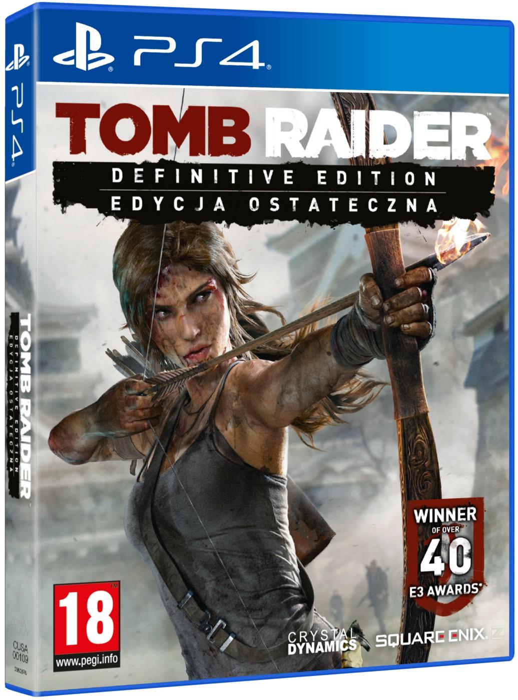 Tomb Raider Definitive Edition - PS4