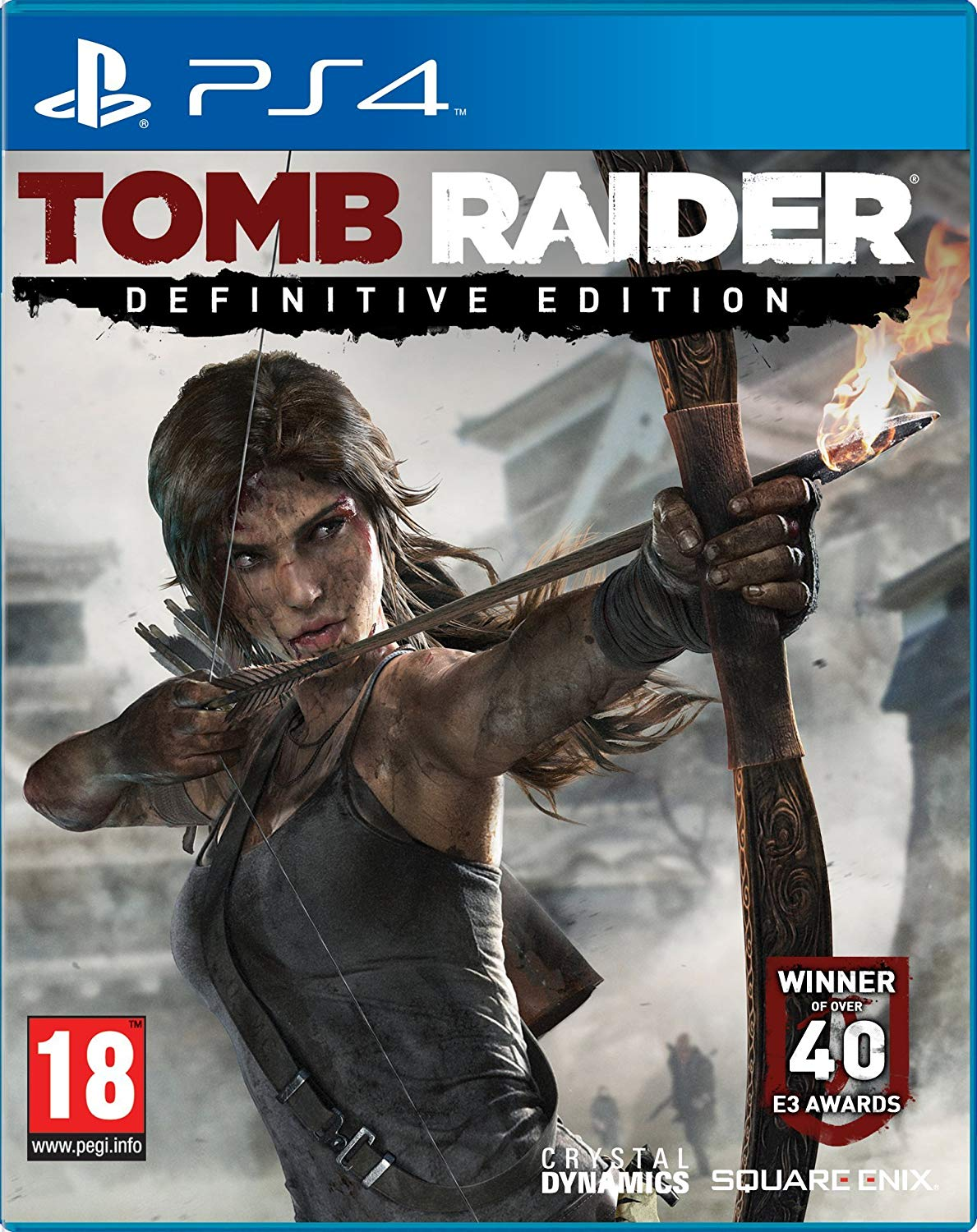 TOMB RAIDER – THE DEFINITIVE EDITION - PS4