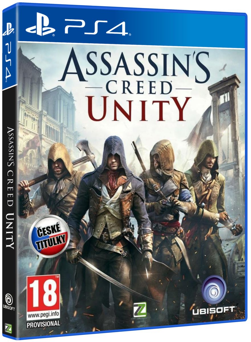 ASSASSINS CREED UNITY CZ - PS4