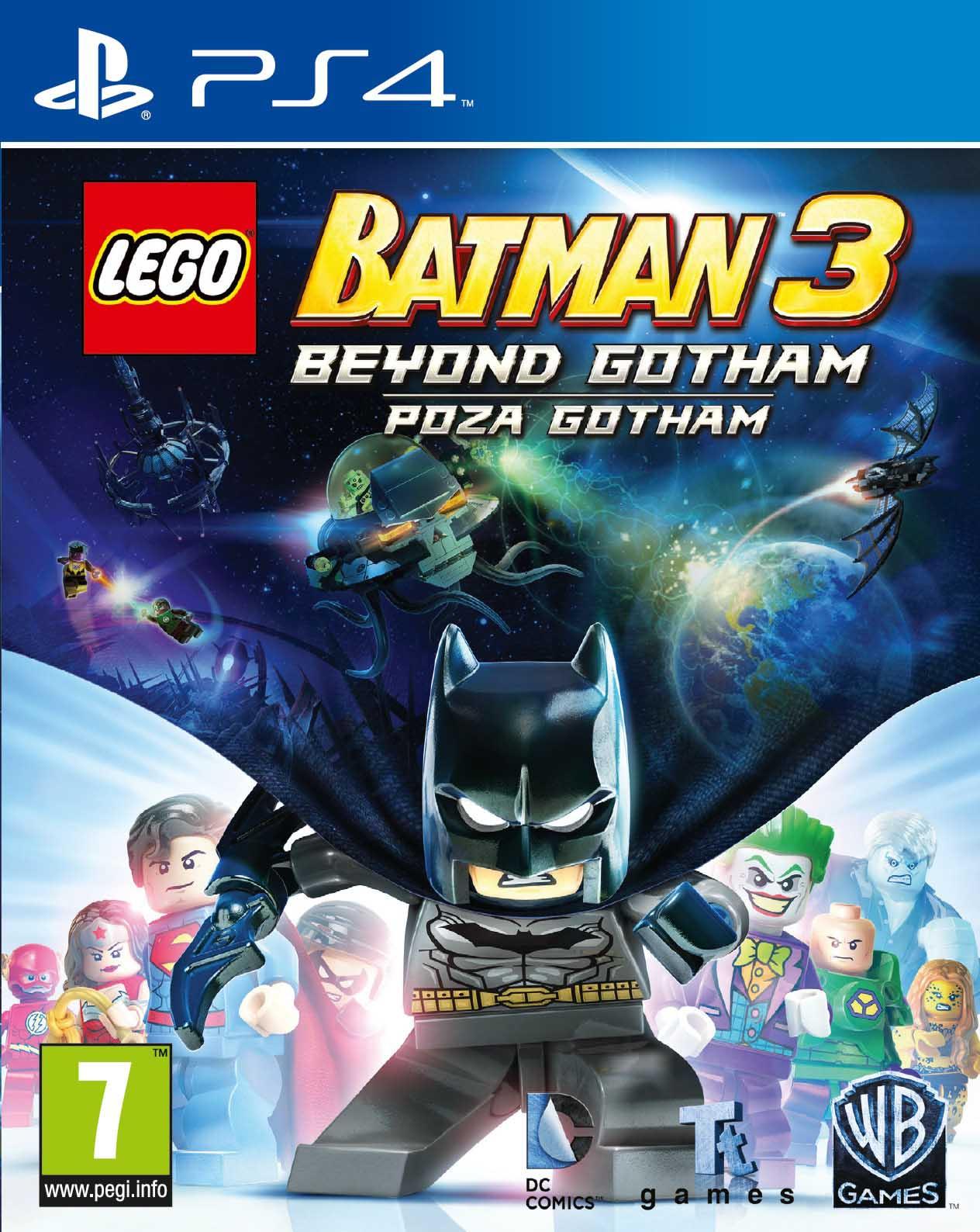 LEGO BATMAN 3: BEYOND GOTHAM - PS4