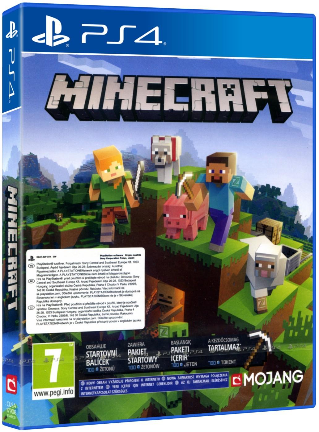 Minecraft (Bedrock Edition) - PS4