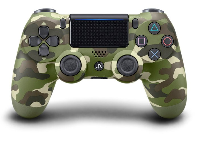 Dualshock 4 Wireless Controller V2 Green Cammouflage - PS4