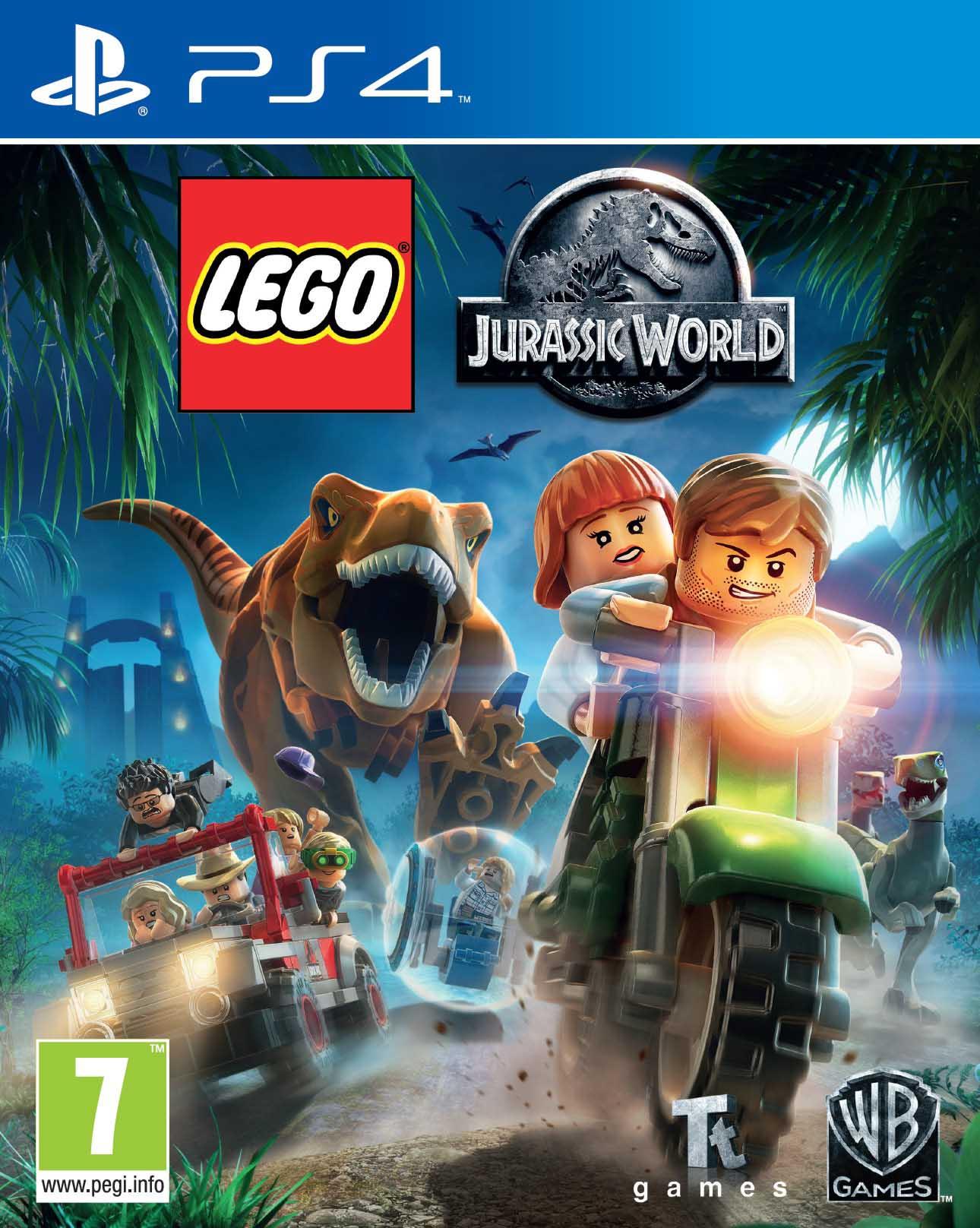 LEGO JURASSIC WORLD GAME - PS4