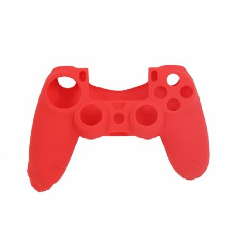Pro Soft Silicone Protective Cover Red - PS4