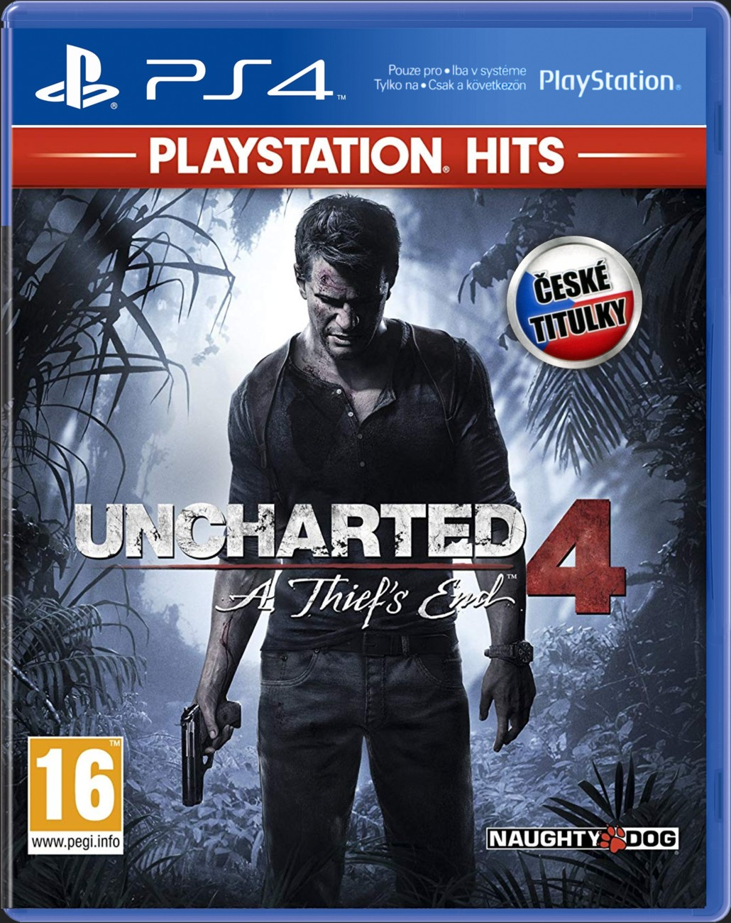 UNCHARTED 4: A THIEF'S END CZ - PS4