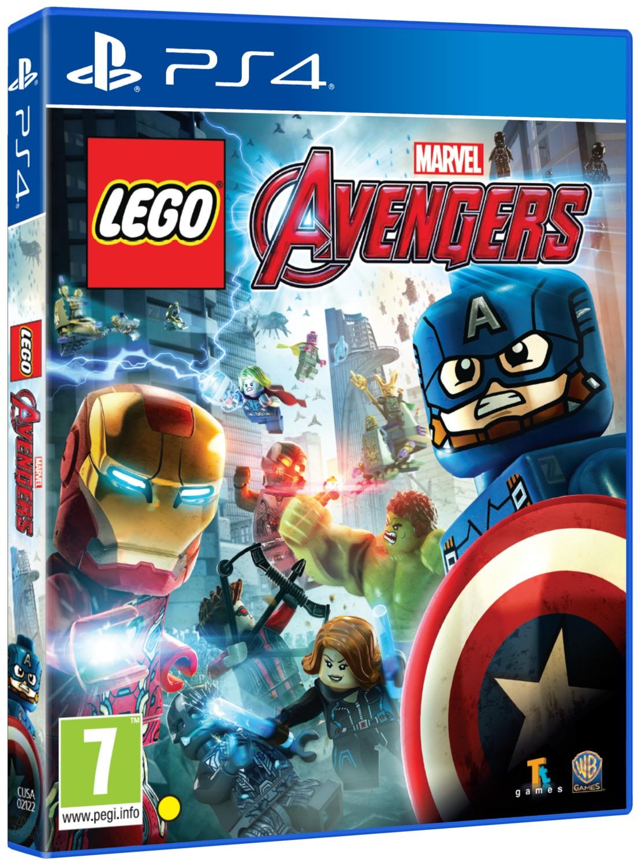 LEGO MARVELS AVENGERS - PS4