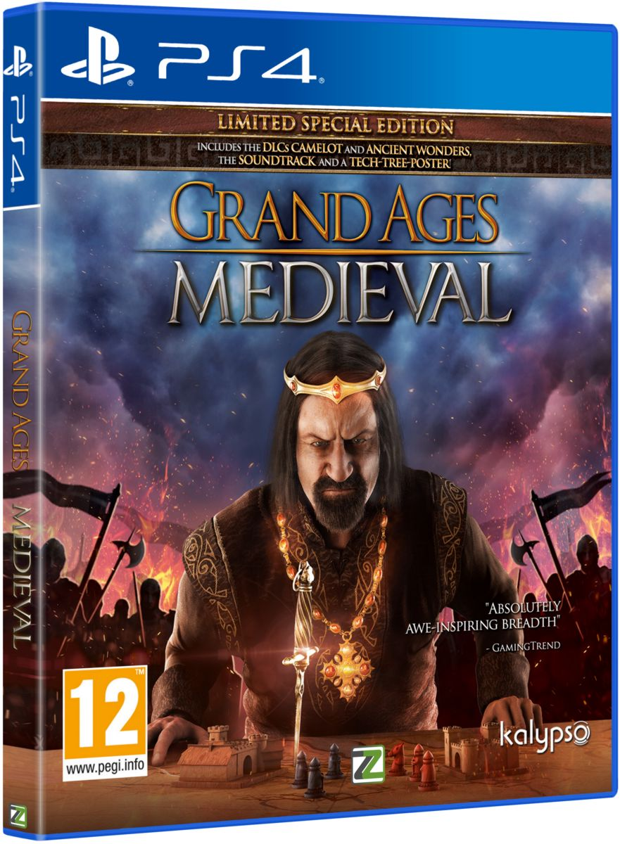 GRAND AGES: MEDIEVAL LIMITED SPECIAL EDITION - PS4