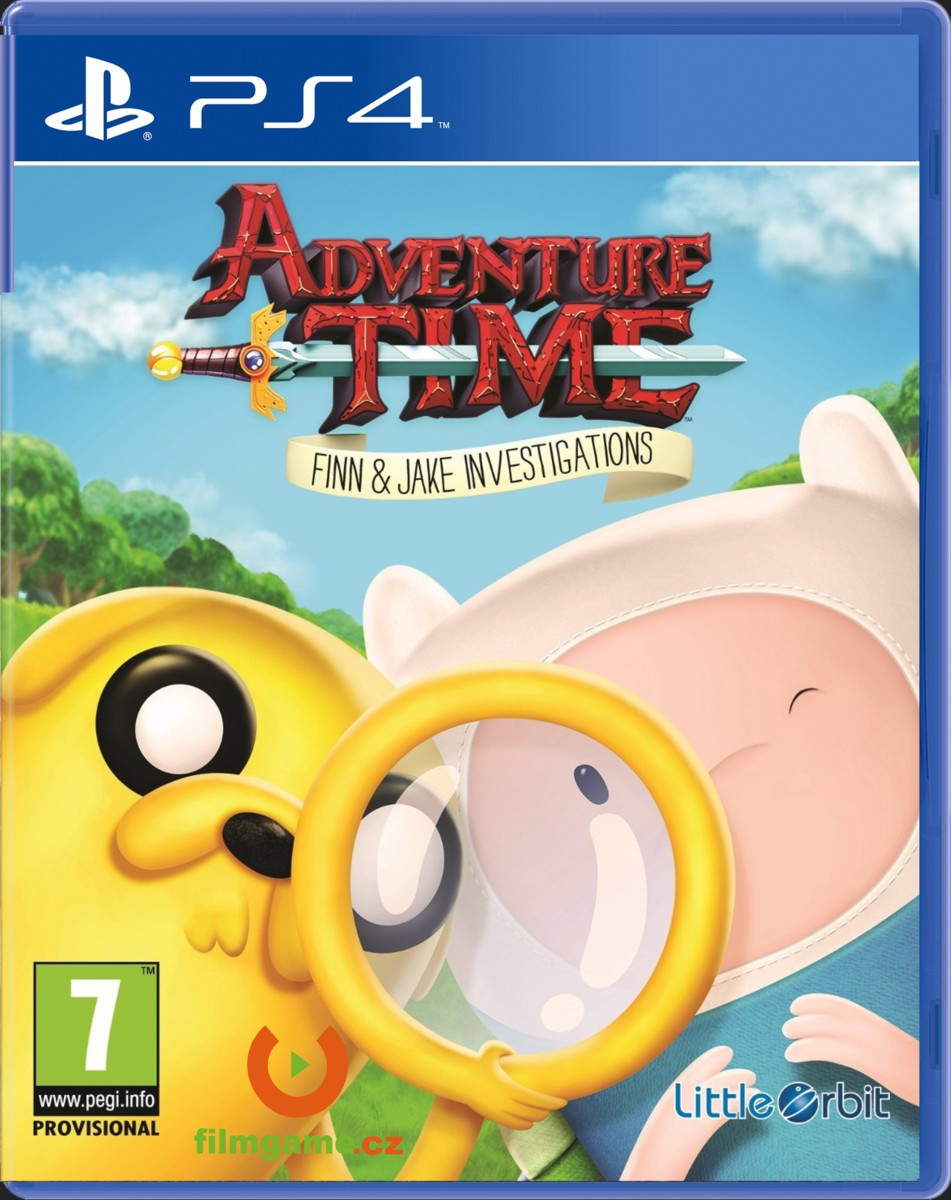 ADVENTURE TIME: FINN AND JAKE INVESTIGATIONS - PS4