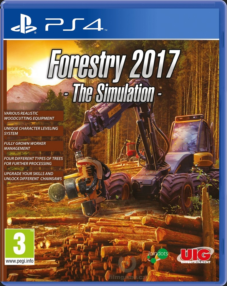 FORESTRY 2017: THE SIMULATION - PS4