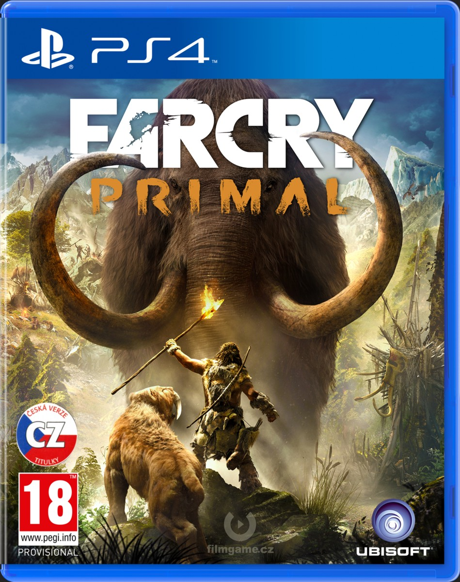 FAR CRY PRIMAL CZ - PS4