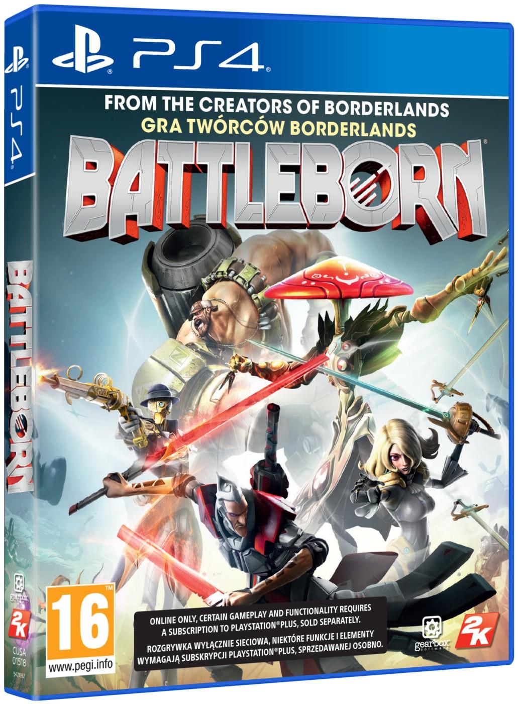 BATTLEBORN - PS4