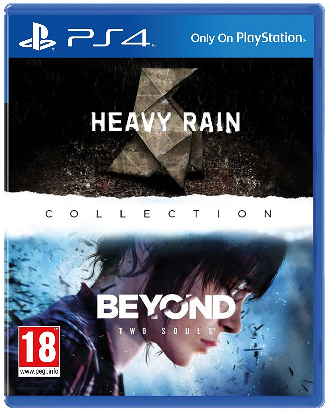 THE HEAVY RAIN & BEYOND: TWO SOULS COLLECTION - PS4