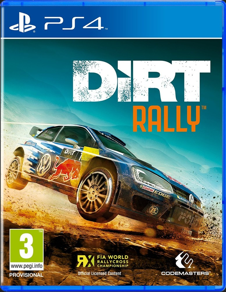 DIRT RALLY - PS4